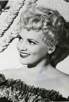 Judy Holliday, one of the all-time greatest comediennes, actual genius, victim of the blacklist. The first time I saw Born Yesterday I felt like I had to tell everyone I knew how good she was.