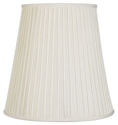 Slip Uno Fitter Lamp Shade Awesome 5X10X8 Slip Uno Fitter Egg Shell Shantung Shade  Includes Design Ideas