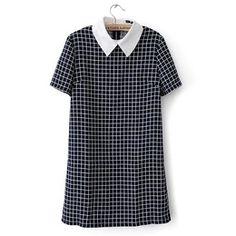 POR ENCOMENDA - Vestido Vintage Gola