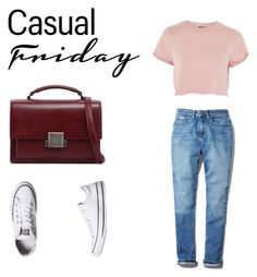 Casual Friday by stasia-kravchenko on Polyvore featuring мода, Topshop, Calvin Klein, Converse and Yves Saint Laurent