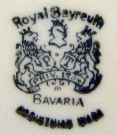 dating royal bayreuth bavaria marks
