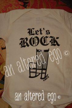 Let's Rock Onesie-onesie  let's rock