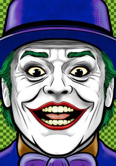 Jack Nicholson Joker by Thuddleston on DeviantArt