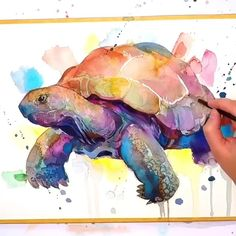 """Everything about """"Beauty Drawings"""" Watercolor Techniques, Art Techniques, Watercolor Animals, Watercolor Paintings, Animal Drawings, Art Drawings, Embroidery Art, Painting Inspiration, Art Tutorials"""