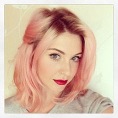 Customer pic @Sarah Chintomby Davies Used Super Cool Colour Awkward Peach