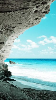 ↑↑TAP AND GET THE FREE APP! Nature Beach View Azure Awesome Hot South Tropic Island Sand Clear Sky Vacation HD iPhone 6 plus Wallpaper