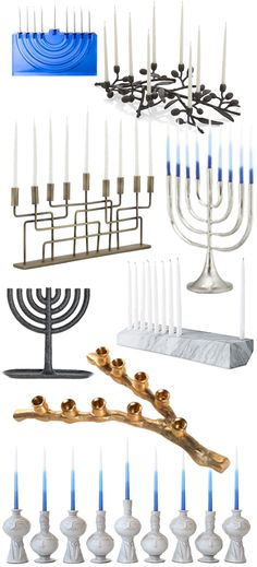 Menorahs so Pretty, You'll Wish Hanukkah Was Even Longer
