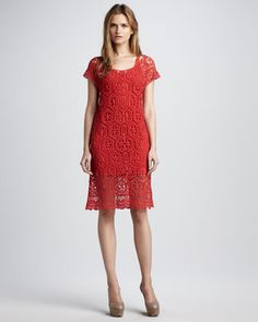 Charlotte Crochet Dress by Ella Moss at Neiman Marcus.