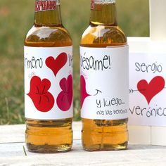 Corona Beer, Ohana, Boyfriend Gifts, Amelia, Dyi, Diy And Crafts, Valentines, Bottle, My Love