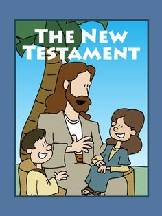 New Testament Coloring Book pages!