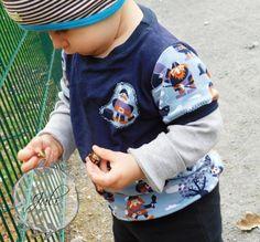 Slinky Shirt * Kinder * Lillestoff * Wikinger