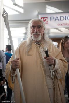"Lord of the Rings - Gandalf-I think this guy really is Gandalf! Does that mean he is ""The Doctor""?"