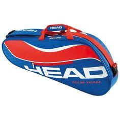 Head Tour Team 3 Racquet Pro Tennis Bag, Blue