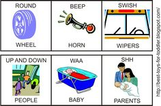 Resources and ideas for Wheels on the Busy learning activities for toddlers and preschoolers. Toddler Learning Activities, Preschool Activities, Reading Activities, Kindergarten Worksheets, Bus Songs For Kids, Rhyming Preschool, Preschool Music, Picture Exchange Communication System, Bus Crafts