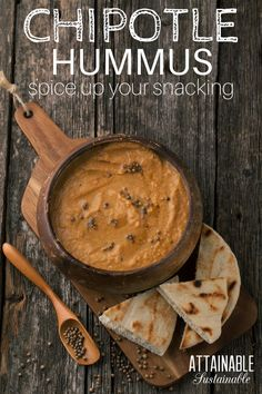 This spicy chipotle hummus recipe is easy to make and a great addition to wraps or game day appetizers. So much better than store bought!