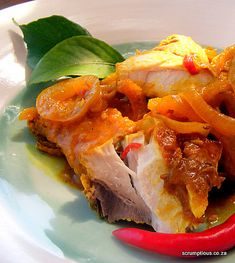 Cape Pickled Fish If you're not a lover of seafood, your nose may well wrinkle at the thought of eating pickled fish. I concede that, . Seafood Dinner, Fish And Seafood, South African Recipes, Ethnic Recipes, Seafood Recipes, Cooking Recipes, Curry Recipes, Fish Cakes Recipe, Best Fish And Chips