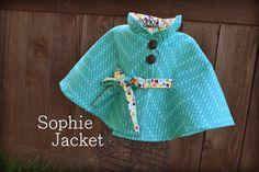 Girl Jacket Pattern Kid Clothing - PDF Sewing Pattern