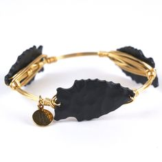 Bourbon and Boweties - Arrow Bangle - Black  Just bought this!!! Love it!!