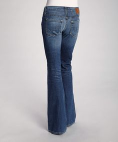 Another great find on #zulily! Zuni Remy Low-Rise Bootcut Jeans - Women by Big Star #zulilyfinds