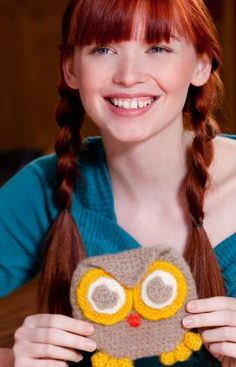 Little Owl Purse Crochet Pattern. It's settled. I'm making this for @Bethany Dailey