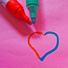 Red + Blue Valentines Day Card | @FairMail - Fair Trade Cards Valentine Day Cards, Red And Blue, Fair Trade, Valentine Ecards