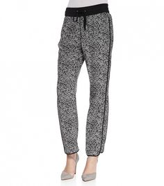 A graphic print always makes a statement // Marc Jacobs Karoo Printed Silk Track Pants ($298)