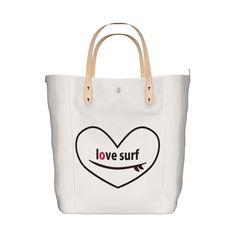 To all surfes!シリーズ第一弾! お揃いの Tote bagです^^ 海へ行く際のかさばる荷物整理に重宝します!/To all surfes! Tote bag - MIWAKU