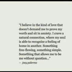 This is how I love, so few wish to find it.