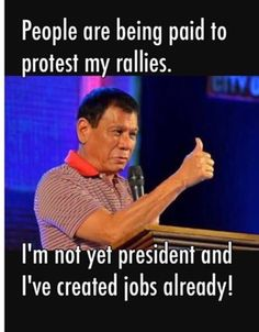 Rodrigo Duterte Quotes, Filipino Funny, President Of The Philippines, Current President, War On Drugs, Political Science, Foreign Policy, Presidential Election, Politicians