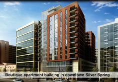 Silver Spring, MD - Boutique Silver Spring, MD apartments The Premier host their Grand Opening event this Wednesday September High Rise Apartments, Silver Spring, Grand Opening, Wednesday, September, Carpet, Boutique, Building, Red