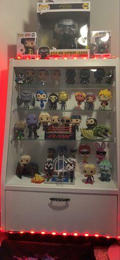 Funko Pop Display, Marvel Room