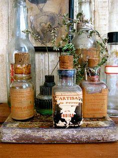 Old bottle love