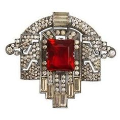 Art Deco jewelry.