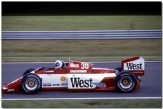 Jonathan Palmer Zakspeed 841 F1 1985 British GP Silverstone by Antsphoto, via Flickr