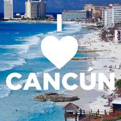 Love is in the air... ¡Feliz dia del amor y la amistad! Like o pin it si amas Cancun como nosotros!