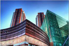 Architecture Skyscraper prague modern architecture buildings - modern architecture most famous buildings - Famous Buildings, Modern Buildings, Architecture Images, Amazing Architecture, Prague, Affordable Housing, Beautiful Places, Amazing Places, House