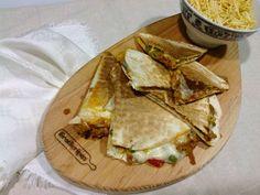Guloso qb: Quesadillas de carne com queijo