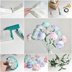 Diy Tissue (Kleenex) Flowers