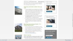 Solar Shingles - Dow Announces First Markets Solar Shingles, Roofing Systems, Make It Simple, Canada