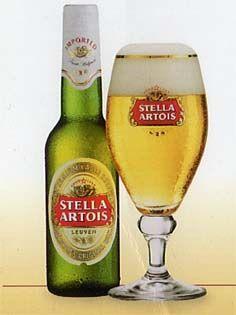 Stella Artois (Ar-TWah) ...say it right, say it proud.