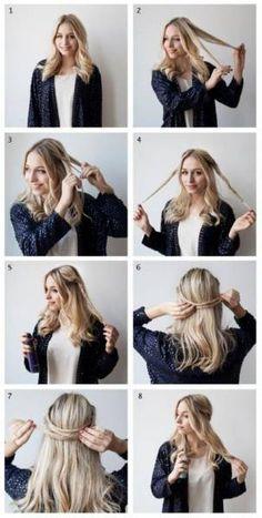 Coucou les filles ! Pas moins de 52 idées de coiffures et tutoriels facile à faire en moins de 10 minutes vous attendant sagement ici. Quelle coiffure allez-