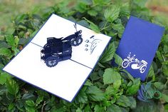 Motorcycles Pop-up Cards Pop Up Cards, Card Ideas, Motorcycles, Templates, Crafts, Stencils, Manualidades, Popup, Vorlage