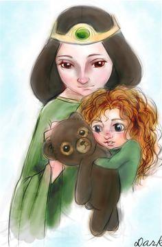 Merida & Elinor