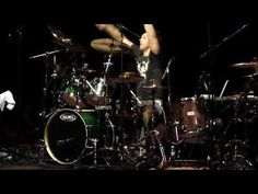 Glen Sobel (HOT FOR TEACHER) Drum Daze 2010 HD - YouTube