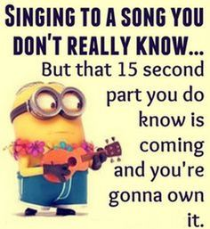 Here are some Funniest minion memes and humor quotes we hope that you will enjoy them a lot, be sure to share the best one's with your friends, In case you want Funny Minion Pictures, Funny Minion Memes, Minions Quotes, Minion Humor, Funny Images, Funny Pics, Whats App Fails, Minions Love, Minions Pics