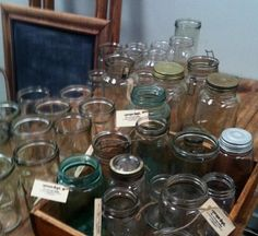 Hundreds of Pickling / Preserving Jars - The Props Dept. - Adelaide, South Australia