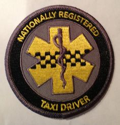 Nationally Registered Taxi Driver EMS/Paramedic by ReverendEMS, $7.00  This is sooo acurate some days!