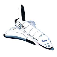 """US Toy One Inflatable Space Shuttle Ship Toy, 17"""" US Toy - $4.34"""