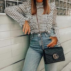 """207 Likes, 3 Comments - ShopStyle (@shopstyle) on Instagram: """"Casual Friday with a side of @Gucci. #ootd #tgif : @stilettobeatss"""""""
