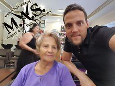 Peluquería M.A.S. en Fuengirola, os presentamos a una de nuestras clientas más atrevidas y encantadoras.